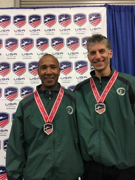 Vet 40 Champion Keith Lichten and Maestro Habek