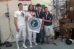 Bay Cup Senior C and Higher Mixed Epee 6 Podium