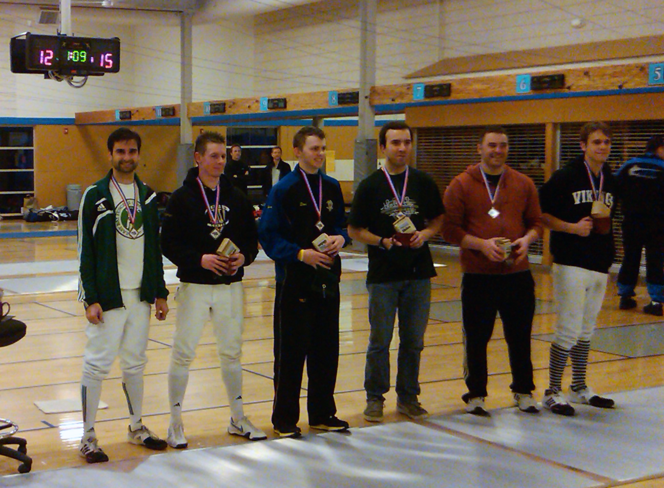 Battle In Seattle 2012 Results East Bay Fencers Gym