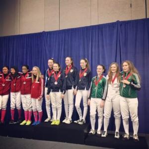 Y14 Girls Bronze March 2016 NAC